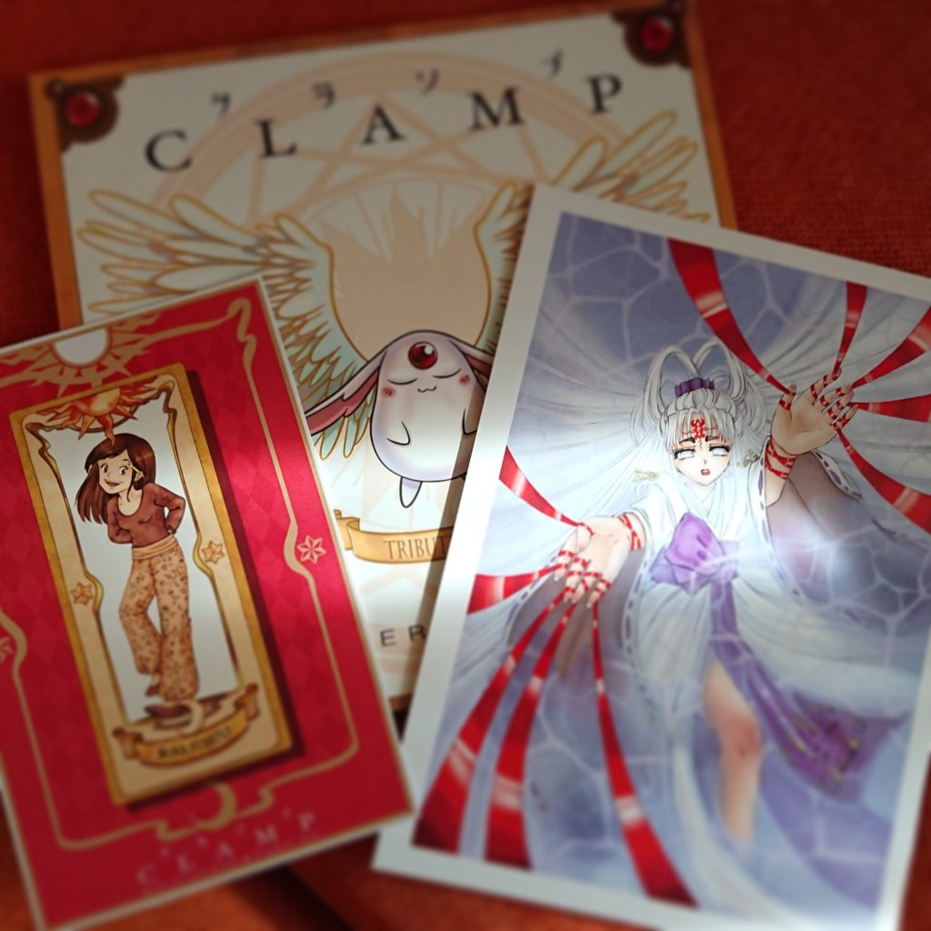 Clamp ArtBook Tribute